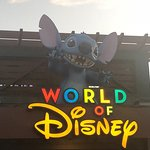 Glad Stitch remained at World of Disney