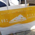 when your food comes in pretty bags
