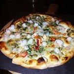 East Coast (seafood) pizza