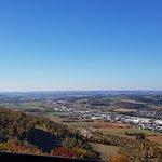 Aussicht im Oktober 2018 Richtung Rosenstein / Welland