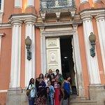 Na porta de entrada da antiga faculdade de medicina da Bahia... muitos museus em um só lugar !