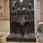 Pharaoh and goddesses