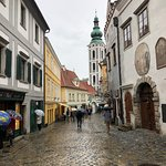 Cobblestoned streets