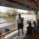 Out tour guide, who knew a lot both about the nature and ecology of the swamp and had also grown