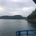 from the boat - along Koh Rong Sanloem shoreline
