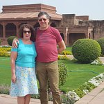 Gardens at the Red fort