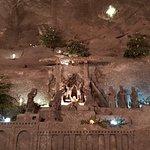 Bild från Saltgruvan i Wieliczka