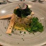Sea bass tartar