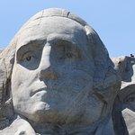 Closeup of Washington