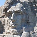 Closeup of Lincoln