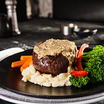 Eye Fillet Steak with Pepper Sauce