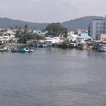 View of the Marina from Dinh Cau Temple