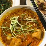 The laksa, very disappointing.