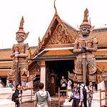 Bild från Kungliga palatset i Bangkok