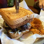 Big A** Grilled Cheese Double Burger