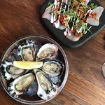 Oysters and kingfish