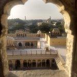 View from Hawa Mahal