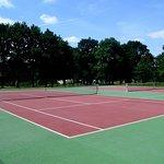 Terrains de Tennis.