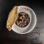 Rustic lentil soup with Piemontese sausage