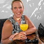 Beautiful wife and mimosas make the day great...