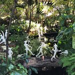 Hans Godo Frabel - Wee jesters greeting visitors to the Naples Botanical Gardens
