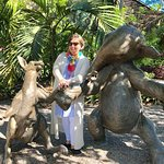 Making friends at the Naples Botanical Gardens