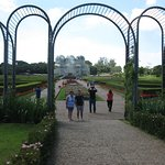 portal do jardim botânico de Curitiba...