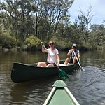 A peaceful canoe down the Margaret River