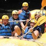 rafting divertido no rio Paranhana em Tres Coroas