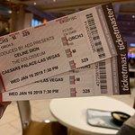 凱撒宮席琳迪翁演唱會照片