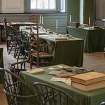Travel back in time in the period rooms with many original furnishings.