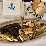 the Fish-Platter for two atRestaurant Ancora in Rovinj