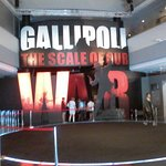 Entrance of the Gallipoli War display