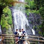 Banyumala Waterfall is in the valley floor of Wanagiri Village, Sukasada District, Buleleng Regency, Bali.