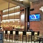 Open, friendly bar