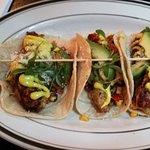 Fresh flavoured Jerk Chicken Tacos