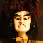 絵本太功記(光秀) 「絵本太功記」は、江戸中期の人形浄瑠璃および歌舞伎の演目。近松柳・近松湖水軒・近松千葉軒 合作、時代物、全十三段。通称「太功記」(たいこうき)。 「太閤記」が勝者である豊臣秀吉に焦点を当てた作品であるのに対して、「太功記」は敗者である明智光秀が主人公となっている。
