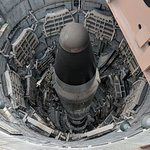 Looking down on the Titan missile.
