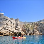 Paddle a stones throw from the Dubrovnik City Walls for ultimate views during our Sea Kayaking T