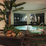 酒店服务好,设施不错,泳池有室内和室外。美中不足的床头柜旁没有插座可以充电😭