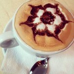 Art in a cup of coffee