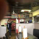 Great thick burger and great prices! Friendly service!
