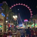 Linq Promenade High Roller & Sprinkles lighting changes
