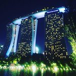 View of Marina Bay Sands from Gardens by the Bay