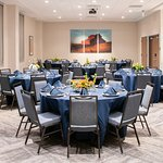 Meeting room seating up to 80 for banquet style or classroom style.
