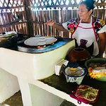 We made our own tortillas with Mayan ladies