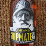 Bottle of Hewn Spirts Shipmate Gold Rum