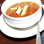 Chicken Tortilla Soup Appetizer