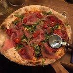 The Spaniard, a specials pizza. Yum......