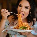 Spaghetti ao Parmesão